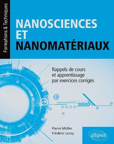 Parution d'un ouvrage d'enseignement en Nanosciences et Nanomatériaux